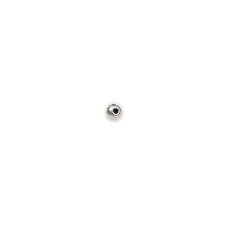 BOLA METAL 5 mm x 4 mm TALADRO 2 mm