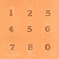 """NUMEROS 3/8"""" PULGADA (1CM)..."""