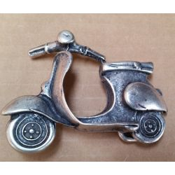 CHAPON VESPA 40MM PLATA...