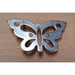 CHAPON 30MM MARIPOSA PLATA...