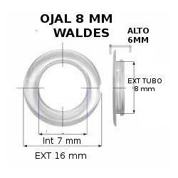 OJAL 8 WALDES 7332-8